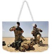 U.s. Air Force Soldiers Gather Weekender Tote Bag