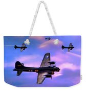 Us Army Air Corps B17g Flying Fortress Weekender Tote Bag