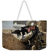 U.s. Army Sergeant Pulls Security While Weekender Tote Bag
