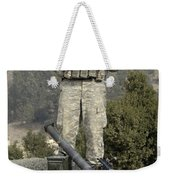 U.s. Army Soldier Gets Information Weekender Tote Bag