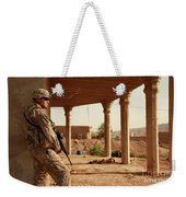 U.s. Army Soldier Pulls Security Weekender Tote Bag