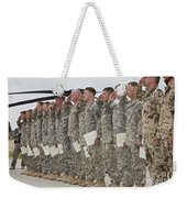 U.s. Army Soldiers And Recipients Weekender Tote Bag