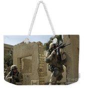 U.s. Army Soldiers Reacting To Small Weekender Tote Bag