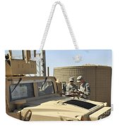 U.s. Army Soldiers Take Accountability Weekender Tote Bag