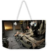 U.s. Army Specialist Practices Giving Weekender Tote Bag