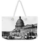 U.s. Capitol, 1884 Weekender Tote Bag