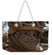 U.s. Marine Covered In Dirt Weekender Tote Bag
