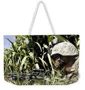 U.s. Marine Maintains Security Weekender Tote Bag