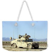 U.s. Marine Standing Ready Weekender Tote Bag