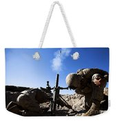 U.s. Marines Brace Themselves While Weekender Tote Bag