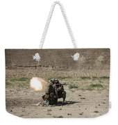 U.s. Marines Fire A Rocket-propelled Weekender Tote Bag