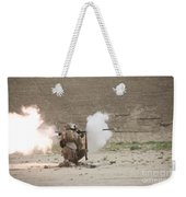 U.s. Marines Fire A Rpg-7 Grenade Weekender Tote Bag