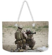 U.s. Marines Prepare A Fragmentation Weekender Tote Bag