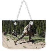 U.s. Marines Training At The Mountain Weekender Tote Bag