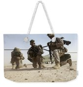 U.s. Marines Unloading Weekender Tote Bag