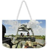 U.s. Navy Riverine Squadron Weekender Tote Bag