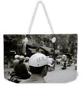 Usa And Hanoi Weekender Tote Bag