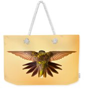 Usaf Hummingbirds Wings Weekender Tote Bag