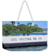Uss Arizona Bb 39 Marker Weekender Tote Bag