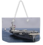 Uss Carl Vinson And Uss Bunker Hill Weekender Tote Bag