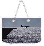 U.s.s. Coral Sea Aircraft Carrier Weekender Tote Bag