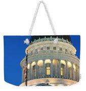 Utah State Capitol Building Dome At Sunset Weekender Tote Bag