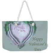 Valentine Pink Tree Peony Weekender Tote Bag