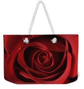 Valentine Rose - Color Weekender Tote Bag