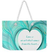 Valentines Day Weekender Tote Bag