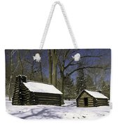 Valley Forge Winter Weekender Tote Bag