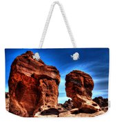 Valley Of Fire Monuments Weekender Tote Bag
