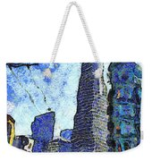 Van Gogh Sips Absinthe And Takes In The Views From North Beach In San Francisco . 7d7431 Weekender Tote Bag