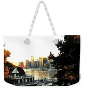 Vancouver At Sundown Weekender Tote Bag by Will Borden