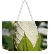 Vanilla Hibiscus Weekender Tote Bag
