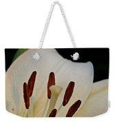 Vanilla Lily Weekender Tote Bag