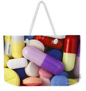 Variety Of Pills Weekender Tote Bag
