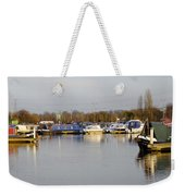 Various Boats At Barton Marina Weekender Tote Bag