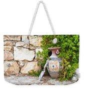 Vase And Trowel  Weekender Tote Bag