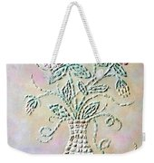 Vase With Flowers Weekender Tote Bag