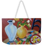 Alice's Table Weekender Tote Bag
