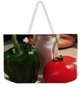 Veggies And Salt Weekender Tote Bag