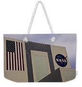 Vehicle Assembly Building Weekender Tote Bag