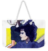 Veil And Feather Weekender Tote Bag