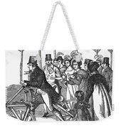 Velocipede, 1827 Weekender Tote Bag