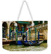 Venetian Colors Weekender Tote Bag