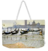 Venice At Dawn Weekender Tote Bag
