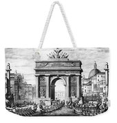 Venice: Grand Canal, 1807 Weekender Tote Bag