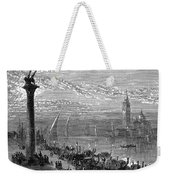 Venice: Grand Canal, 1875 Weekender Tote Bag