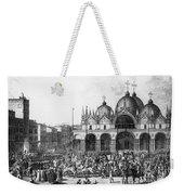 Venice: Saint Marks, 1797 Weekender Tote Bag