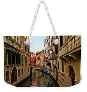 Venice Waterway Weekender Tote Bag